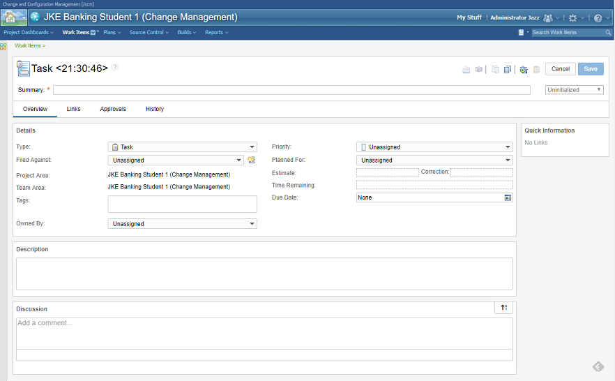 IBM Rational DOORS NG - Change and task management